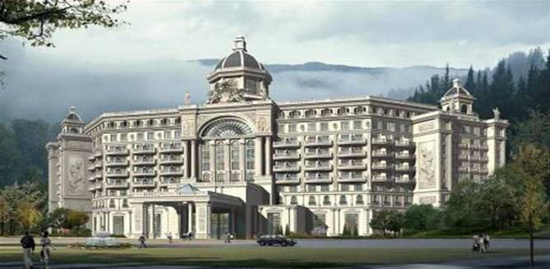雍容华贵的欧式风格,同时采用独特的酒店设备