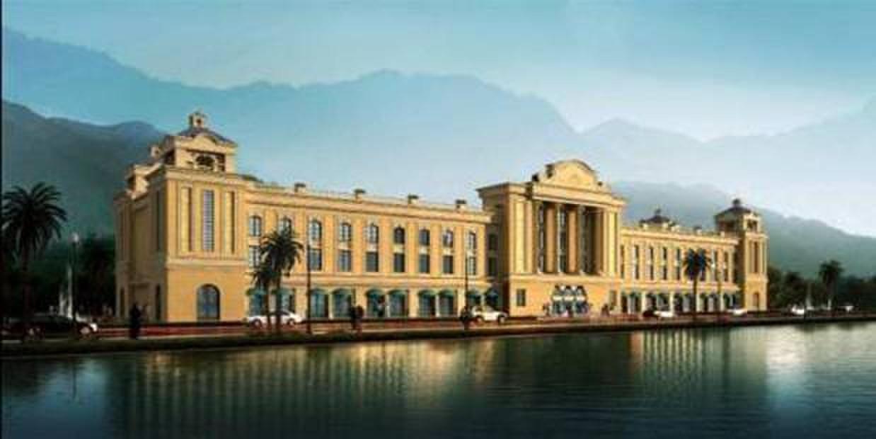 酒店建筑延续了度假村欧式的建筑风格,共计240余间客房,为游客打造出